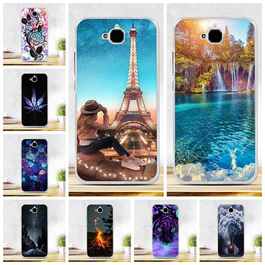 Coque Huawei Y6 Pro Coque Honor 4C Pro housse Honor Play 5X housse souple silicone Huawei profiter 5 Holly 2 Plus Coque Honor 4C Pro coques