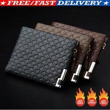 Hot Men Wallet PU Leather Wallet Busines
