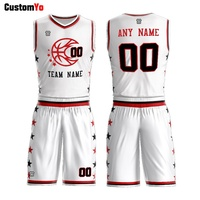 Wholesale Men's Singlet Reversible Sublimated Basketball Jerseys For Adults