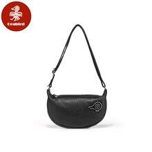 Orabird Soft Leather Hobo Bag for Ladies Designer Small Crossbody Purse Summer