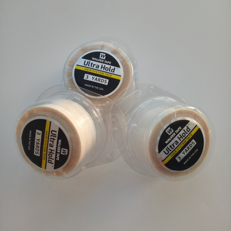 Wholesale 3yards 12 Yards 36yards Ultra Hold Walker Tape Double Side Tape Adhesive Tape  For Toupees Or Wigs