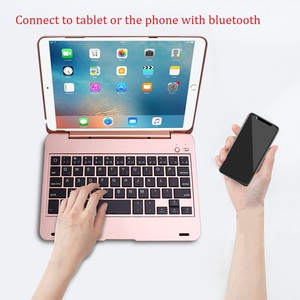 Image 5 - New ABS Coque for iPad mini Keyboard Case Bluetooth Wireless Keyboard Flip Stand Case for iPad mini 2 mini 3 Case with Keyboard