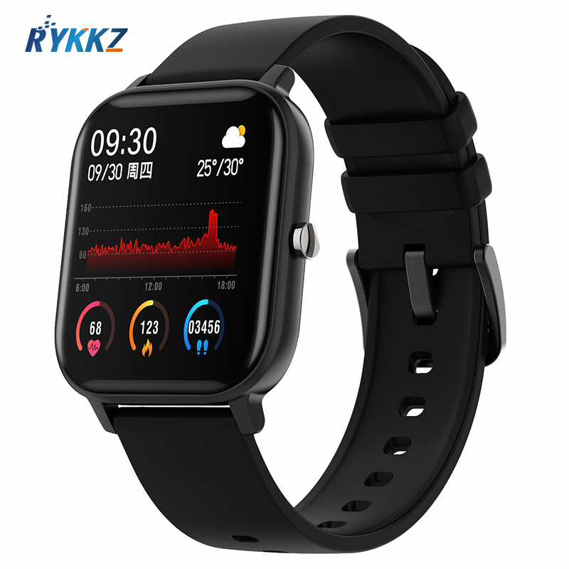 2020 Smart Watch Men Women Waterproof Fitness Sport Watch Heart Rate Tracker Call Reminder Bluetooth <font><b>Smartwatch</b></font> For Android iOS image