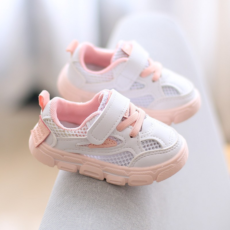 2020 New Baby Mesh Sneakers Soft Sole Infant Toddler First Walkers Girls Shoes  Baby Shoes Boy Casual Baby Shoe