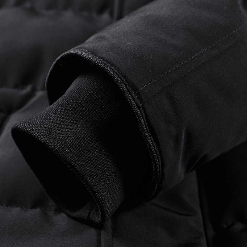 10XL 9XL neue plus größe Parkas Männer Neue Ankunft Winter Lässige Warme Starke Mode Pelz kragen Mit Kapuze Mantel Oberbekleidung Hohe qualität
