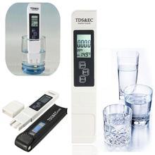 3 in 1 LCD Digital TDS EC PPM Meter Tester Pen Water Quality Meter Tester Pen Water Purity PPM Filter Hydroponic Aquarium Pool