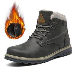 Botas do exército sapatos de inverno homens botas militares botas de neve ao ar livre botas de combate de tornozelo peludo unissex sapatos de casal planos botas hombre