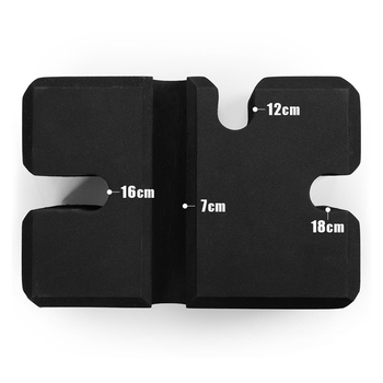 Brick Barbell Bench Press Board Adjust Height Squat Bench Press Assist Fitness Sports Exercise Trainer