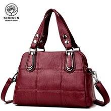 Kadın deri çanta kadın çanta lüks çanta kadın çanta tasarımcısı Tote bayanlar omuz çantaları marka askılı çanta kesesi ana Femme