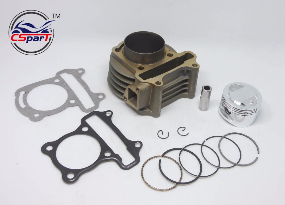 Performance <font><b>52MM</b></font> Cylinder <font><b>Piston</b></font> <font><b>Ring</b></font> Gasket Kit GY6 120CC 88ML Jonway Jmstar Yiying Wangye Baotian Sunny Keeway Scooter Parts image