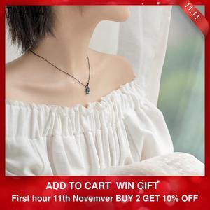 Image 2 - Thaya Original Design Sleeping Beauty Necklace S925  Silver Handmade Crystal Short Collarbone Chain  Jewelry Gift