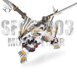 COMIC CLUB IN-STOCK ZA Model 1/72 Mechanical beast SF95-003 MUGEN LIGER TUSKS LION Assemble Action Figure Robot Toys