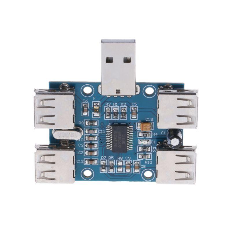 DC 5 V USB Hub USB2.0 Hub 4-Female Hub USB Expansion Board Module