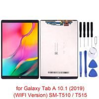 For Samsung Galaxy Tab A 10.1 (2019) (WIFI Version) SM T510 / T515 LCD Display Monitor + Touch Panel Screen Glass Digitizer Asse
