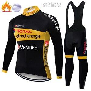 2020 команда всего прямой энергии Велоспорт Джерси зимний тепловой флис conjunto мужской Велоспорт велосипед MTB велосипед велосипедные брюки