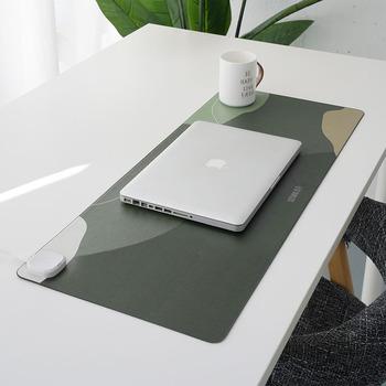 Inteligentna podgrzewana mata podgrzewany elektrycznie Pad dywanik biura na biurko ogrzewanie podkładka pod mysz ogrzewacz dłoni na dom nowy rok promocja tanie i dobre opinie CN (pochodzenie) Skórzane 76-100 w