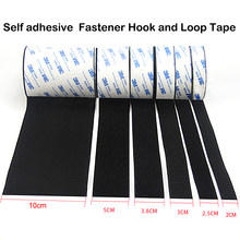 1Meter/Pairs Strong Self adhesive Hook and Loop Fastener Tape nylon sticker velcros adhesive with Glue for DIY 20/25/30/38/50mm(China)