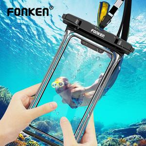 Full View Waterproof Case For Phone IP68 Transparent Dry Bag Swimming Pouch For iPhone 11 Pro Max 6.5 inch Mobile Phone Cases(China)