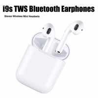 Gaming headset fones de ouvido fones de ouvido fones de ouvido bluetooth sem fio w1 chip cancelamento de ruído fones de ouvido 1:1 i9s i30 tws para apple iphone
