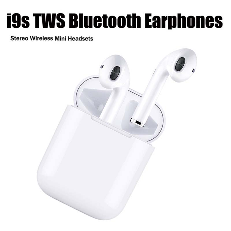 Wireless Earphones Bluetooth Earbuds Gaming Headset Ear Buds W1 Chip Noise Canceling Headphones 1:1 I9s I30 Tws For Apple Iphone