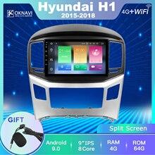 цена на For Hyundai-h H1 Grand Starex 2015-2018 Car Radio 9 Inch No 2 Din Dvd Multimedia  Audio Player Touch Screen PX5 DSP Autoradio