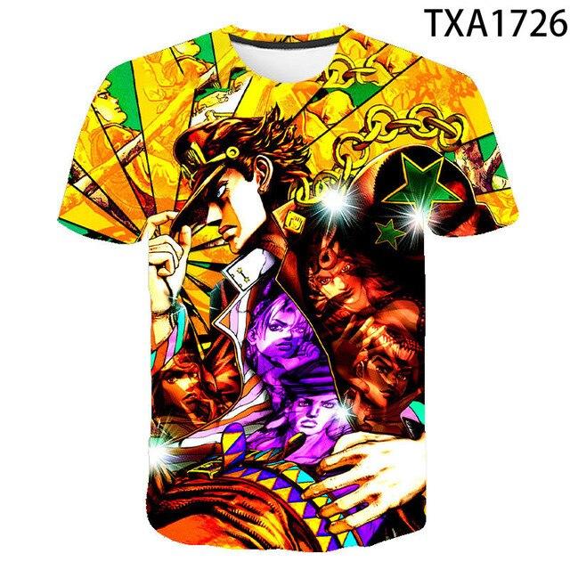 Summer Streetwear T-Shirt Jojo