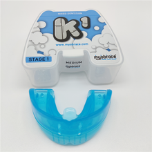 Myobrace k1 instrutor médio ortodontic cinta corrigir maus hábitos crianças idades 5 a 8 dental trainer k1 cinta