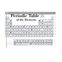 Акриловые периодической таблицы элементов Дисплей для обучения на день рождения, День учителя подарки