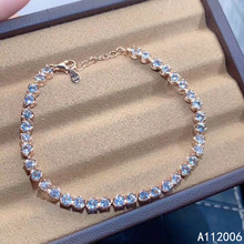 KJJEAXCMY fine jewelry 925 sterling silver inlaid natural Aquamarine bracelet popular female hand bracelet support testing retro feather inlaid male and female personality women and men opening bracelet hand bracelet thai silver unisex bracelet