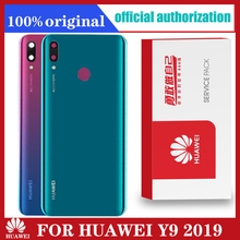 Original New Y9 2019 Battery cover For Huawei Y9 2019 / Enjoy 9 Plus JKM LX1 LX2 LX3 Back Cover  housing cover Case Replacement