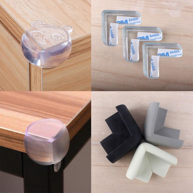 8 шт., силиконовые защитные накладки на углы стола для безопасности детей