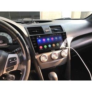 Image 5 - Android 10,0 9 inch 2 din radio auto 4GB + 64GB kopf einheit GPS Navigation Octa Core für toyota Camry 2007 2011 unterstützung 3G/4G DSP BT
