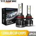 TF30 Новинка 9006 лм 9005 H4 H11 H7 светодиодные фары лампы для фар CSP 72W автомобильные лампы H9 H8 светодиодная лампа для фар 12 в 24 В