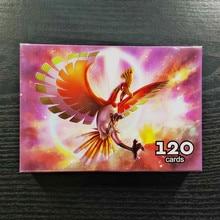 Такара Томи Покемон 120шт флэш-карт 109 GX в 11 коллекциях тренер бою сияющей карта настольная игра детские игрушки подарки