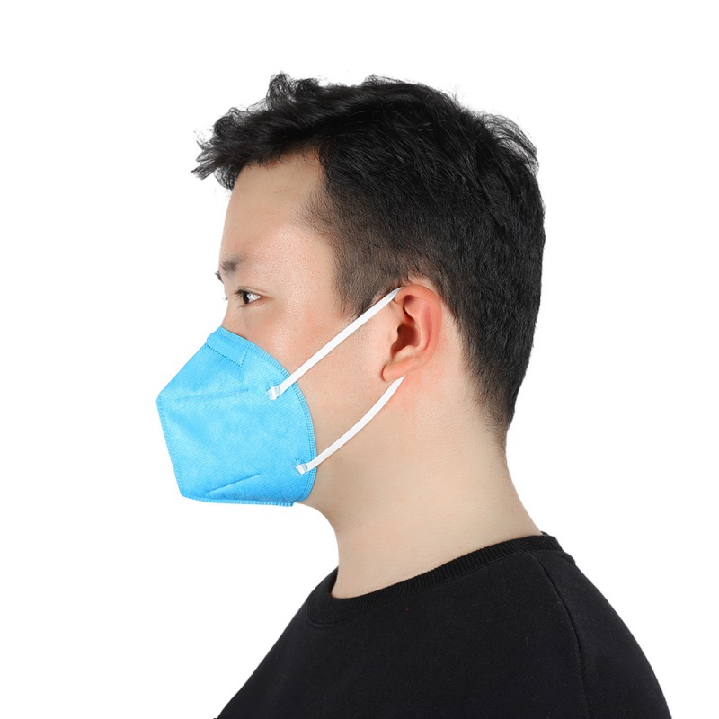 3Colors Disposable Mask 3D 4-layer Design Dustproof And Breathable Safety Mask for Men Women
