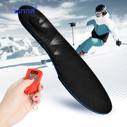 New Arrival Electrically Heated Insoles with Orthopedic Arch Support Shock Absorption Slip Breathable Thermal Heating Insoles