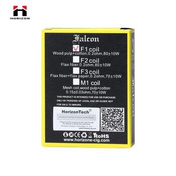HorizonTech Falcon F1 0.2ohm bobine M1 0.15ohm tête de bobine de remplacement, noyau E-Cigarette pour réservoir HorizonTech Falcon 3 pièces/paquet