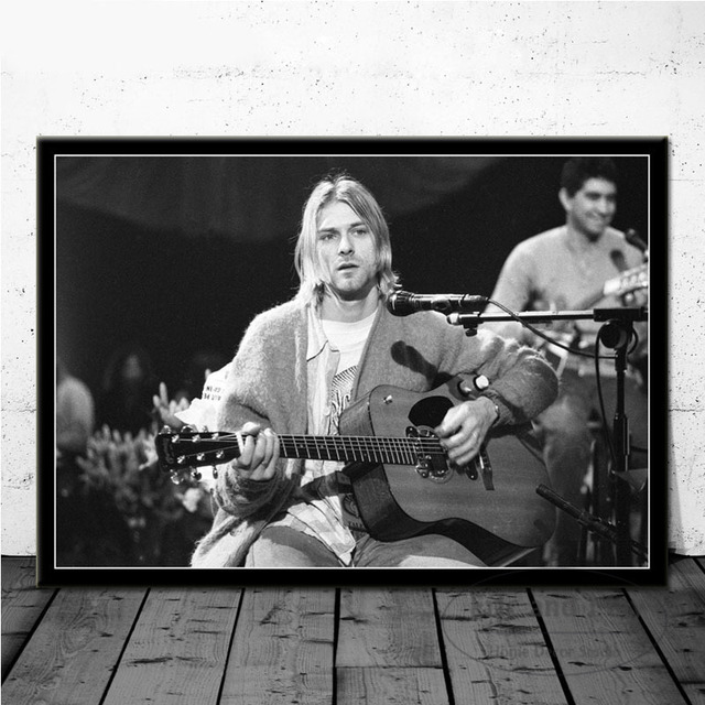 Kurt Cobain Poster 6