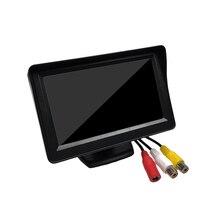 4.3 Inch HD Screen Car Rear View LCD Monitor/Camera Support Desktop On-Board Display