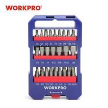 Workpro набор из 51 отверток нескольких бит с прорезями phillips