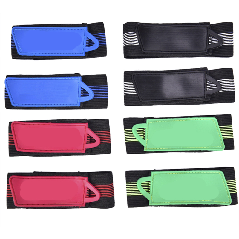 2X Bike Reflective Ankle Leg Bind Trousers Pant Band Clips Strap JP