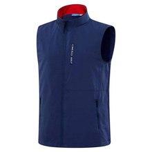 Golf-Vest Spring Autumn Men Sporin-Choice S-XXL Leisure Sports Outdoor 4-Color New