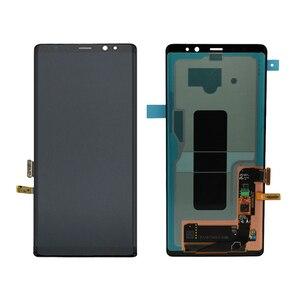Image 2 - Pour SAMSUNG Galaxy NOTE 8 N9500 LCD AMOLED écran daffichage + écran tactile numériseur assemblée pour SAMSUNG affichage Original