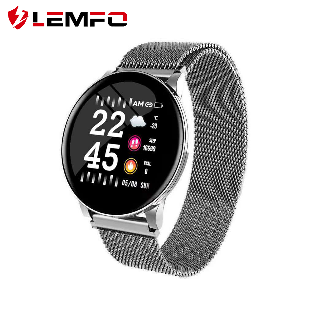 LEMFO Smart Watch Men Heart Rate Blood Pressure Oxygen Monitor For Android Apple Phone Sports Fitness Tracker Smart Watch Women Smart Watches    - AliExpress