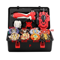 New Launcher Beybladeb 145 Burst Set Toy Launcher and Arena Beyblade Burst Metal God Spin Top Bey Blade Blade Toy