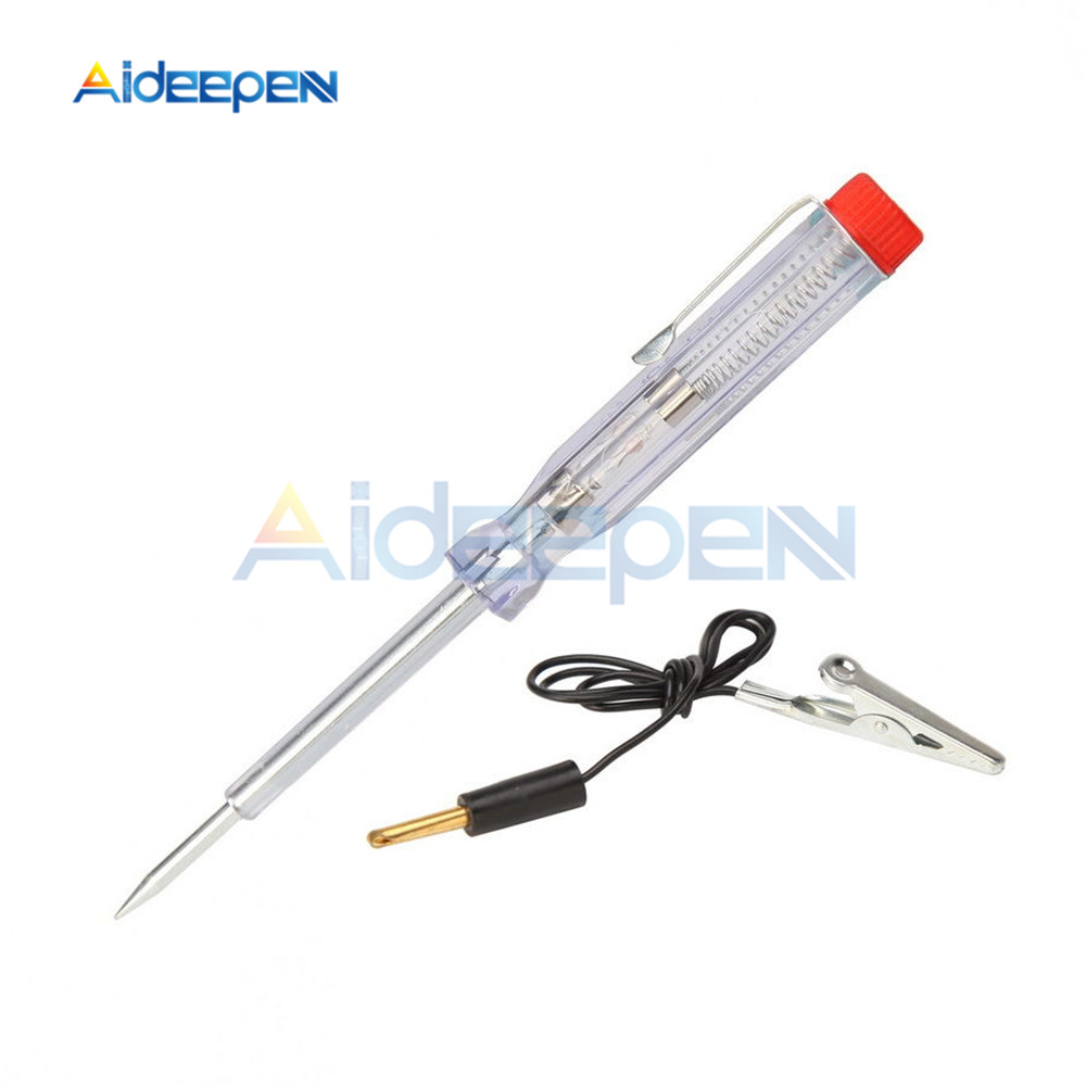 Automotive Circuit Repair Electric Pen Repair Line Induction Test Pencil Car Vehicle Induction Electroscope Test 6V 12V 24V
