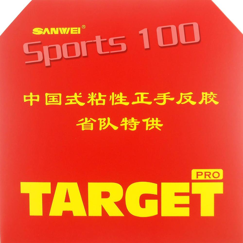 Sanwei  TARGET (Provincial) Tacky Pimples In Table Tennis PingPong Rubber(rubber With Sponge) The New Listing