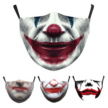 5-Layers FILTER Face-Mask Anime 3d-Printing Washable Adult PM 1PCS