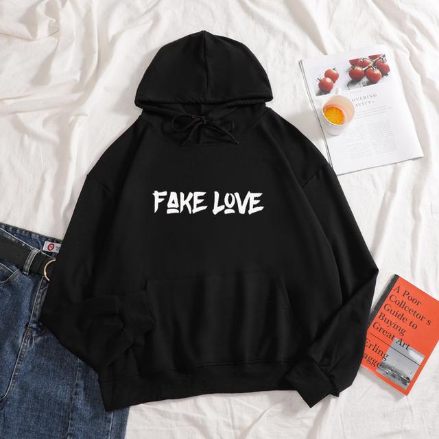 BTS FAKE LOVE HOODI (7 VARIAN)