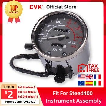 цена на CVK instrument assembly gauges meter cluster speedometer odometer tachometer for HONDA Steed VT VLX 400 600 REBEL CA250 CMX250